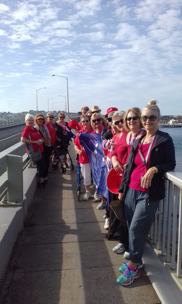 Phillip Island Wanderers walk to remain at their fittest. Give us a call