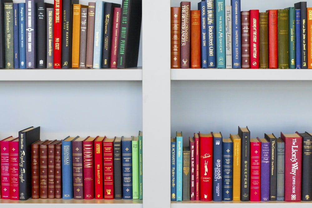 Bills Book Shed is filled with a huge array o books, both fiction, non-fiction & children's books.