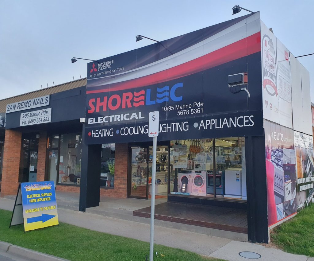You will find everything electrical and musical at Shorelec Electrical Wholesalers