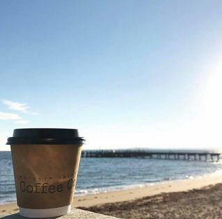 Phillip Island Coffee Co roasts their own coffee to produce the very best coffee in the region